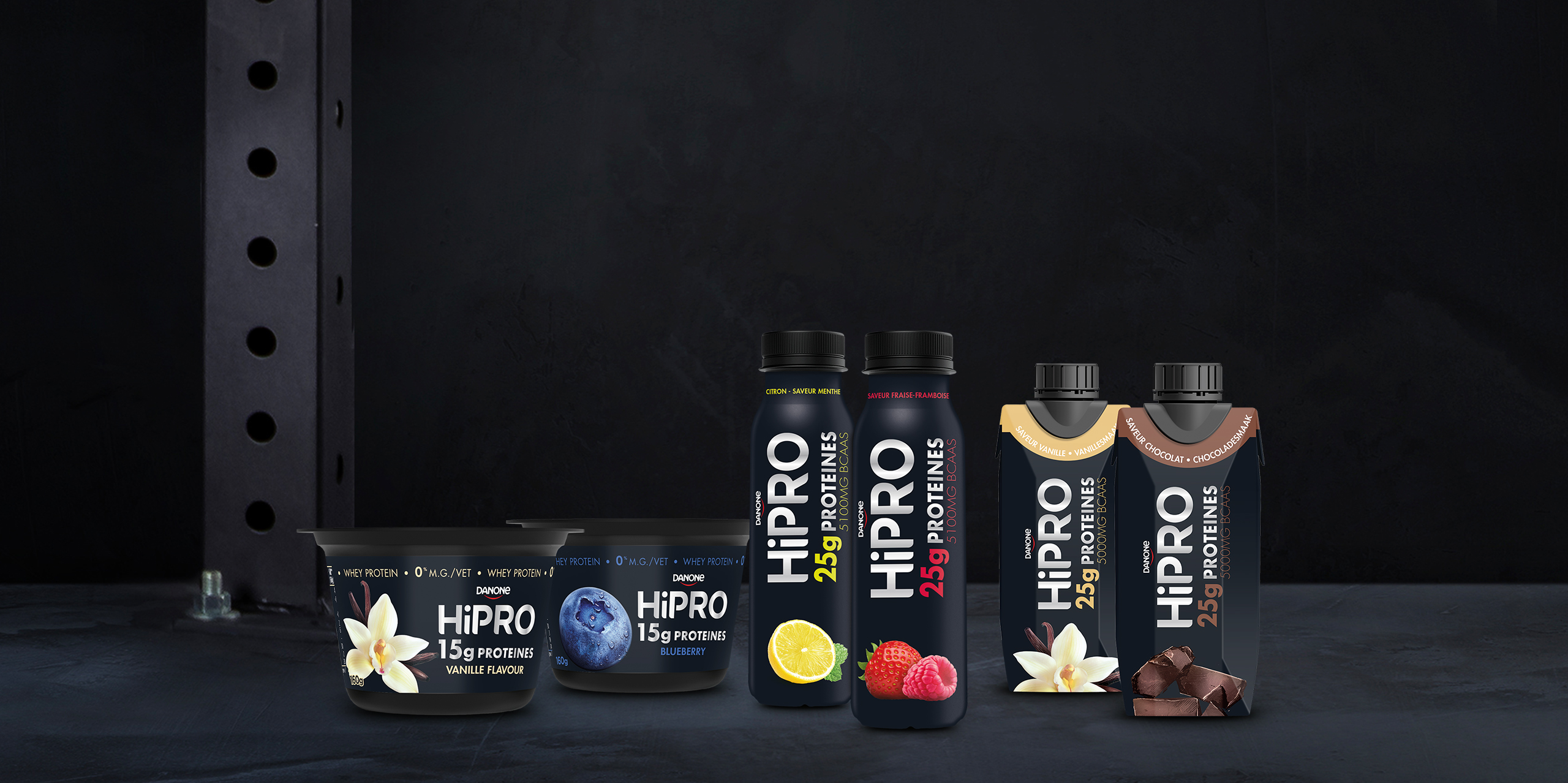 HiPRO producten | HiPRO - Danone